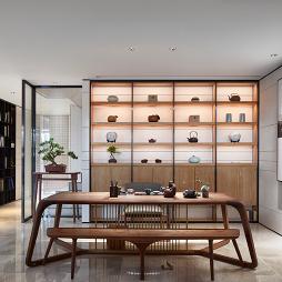 新中式素雅茶室设计