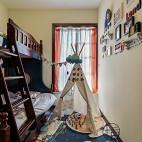 重彩美式儿童房设计