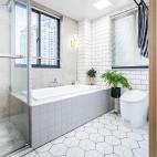 木色北欧卫浴设计图