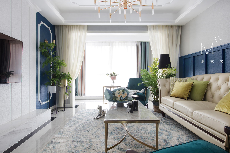 大气125平美式三居客厅效果图欣赏客厅美式经典客厅设计图片赏析