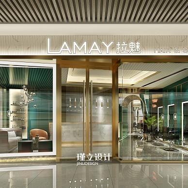 美发店设计 Lamay美发造型SPA_3470458