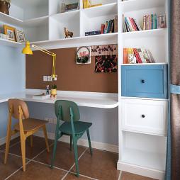 经典美式四居书房设计图片
