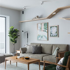 淳朴日式客厅设计图
