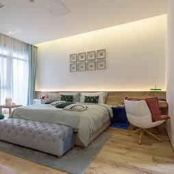青岛艺科亲子主题酒店卧室设计图片