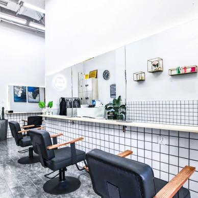 发型设计沙龙店剪发区设计图
