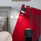140㎡混搭卧室落地灯设计
