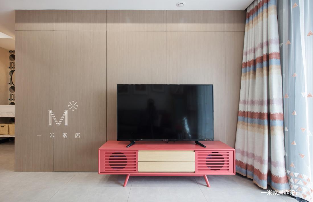 典雅24平现代小户型装修案例客厅现代简约客厅设计图片赏析