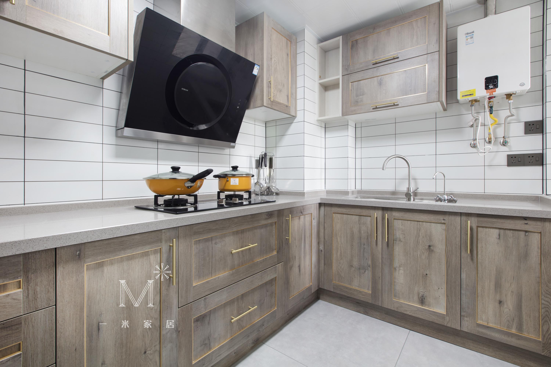 明亮22平现代小户型厨房效果图餐厅