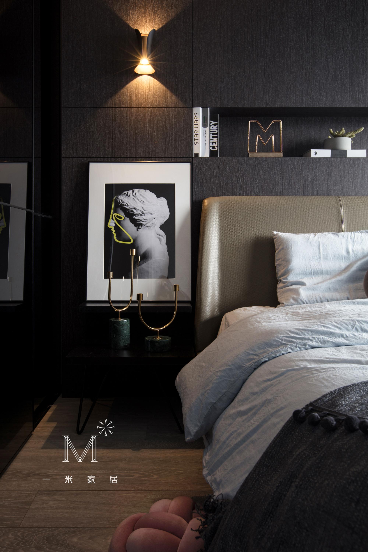 质朴28平现代小户型设计效果图卧室现代简约卧室设计图片赏析