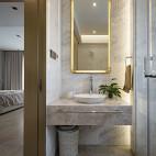 自然现代复式卫浴设计图