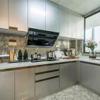 天鸿万象新天D户型厨房设计