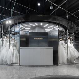 KIKI WONG婚纱店室内前台设计