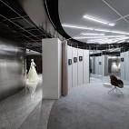 KIKI WONG婚纱店室内试衣间设计