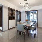 140平现代简约餐厅设计