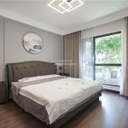 140平现代简约卧室设计实景图