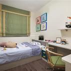 140平现代简约儿童房设计实景图