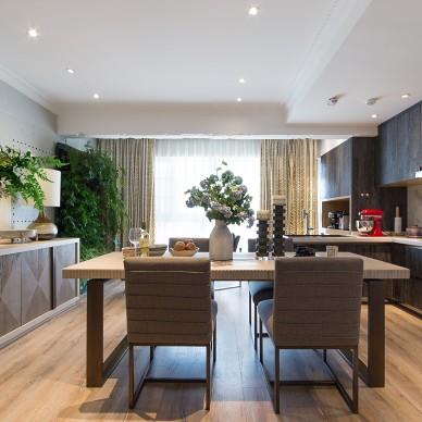 一个家的核心是厨房餐厅而不是客厅,去客厅_3489652