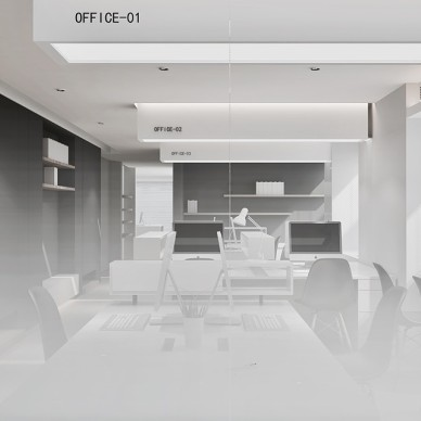 Office Plan—SIM簡線建築_3490058