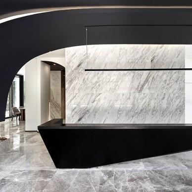 上海腾邦差旅办公空间前台设计
