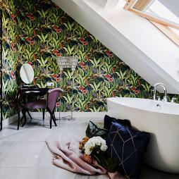 600平复式住宅卫浴设计图