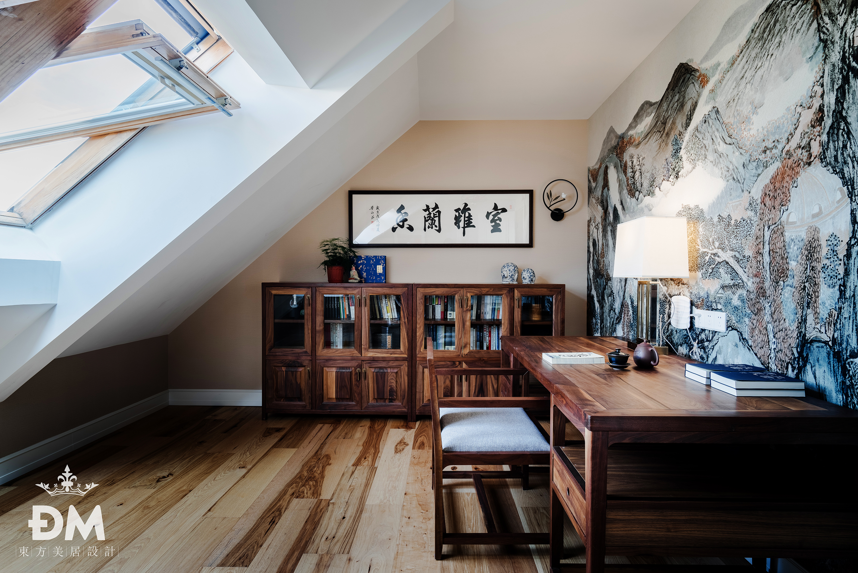 600平复式住宅阁楼设计图功能区4图美式经典功能区设计图片赏析