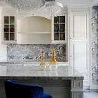 600平复式住宅吧台设计