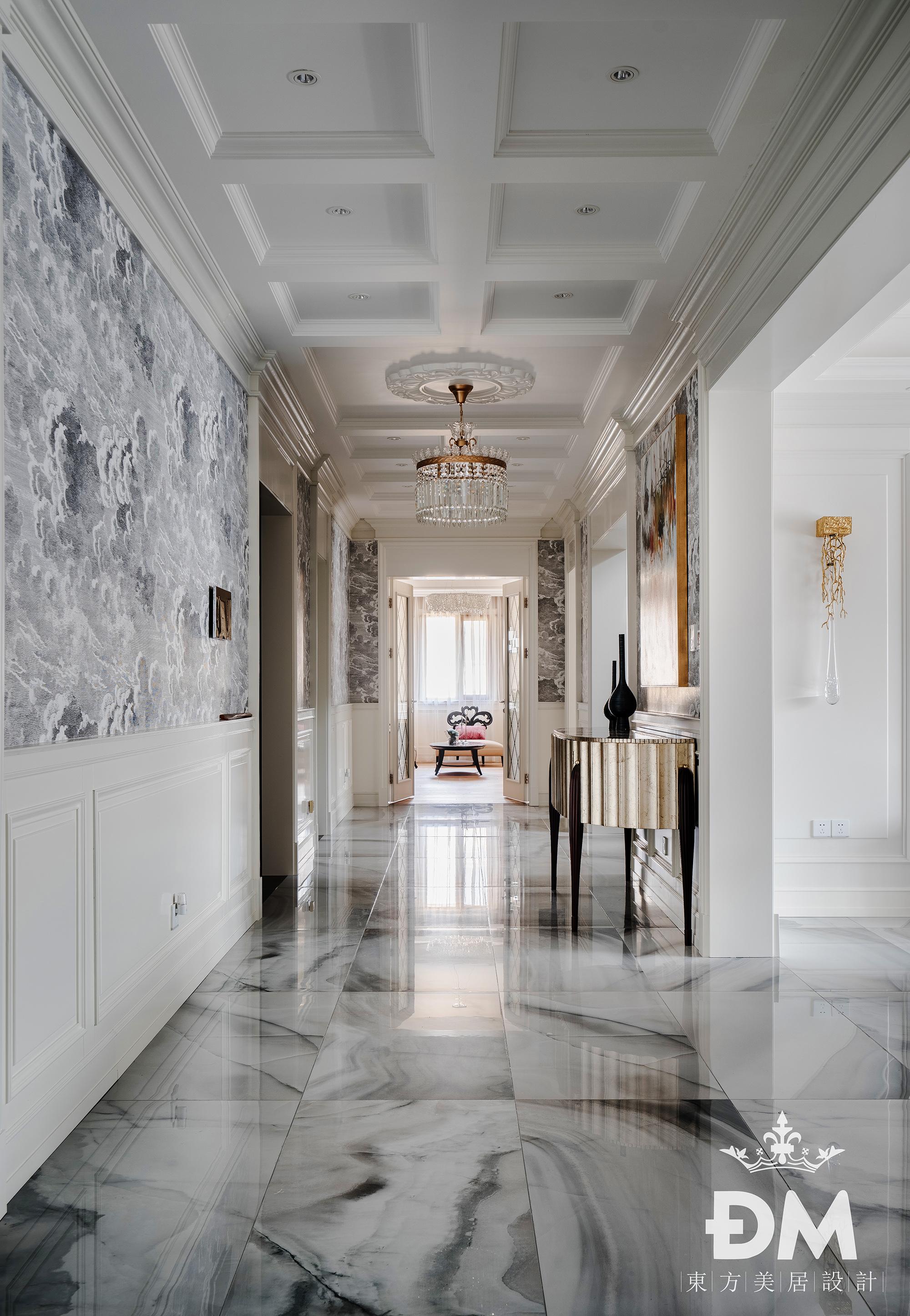 600平复式住宅过道设计功能区3图美式经典功能区设计图片赏析