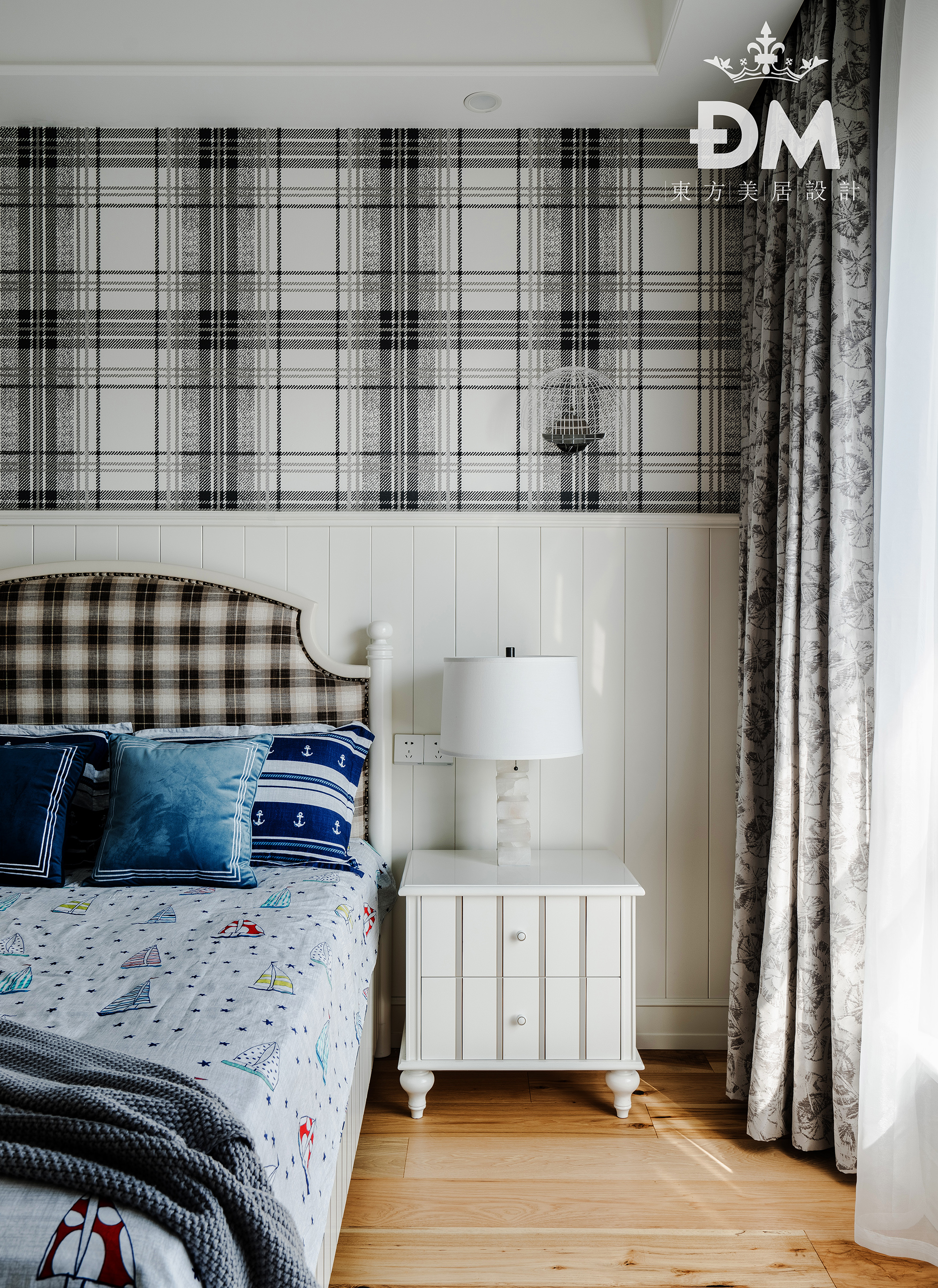 600平复式住宅儿童房设计图片卧室美式经典卧室设计图片赏析