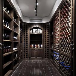 现代风雅酒窖设计