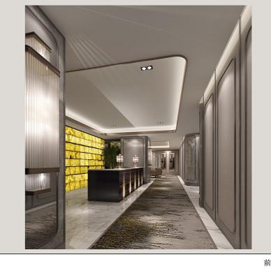办公空间,艺术会所,港派设计_3491241