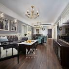 优雅美式客厅设计图