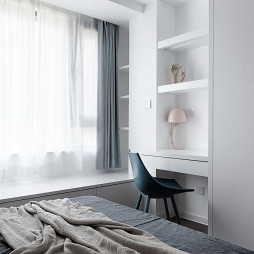 简致混搭卧室飘窗设计