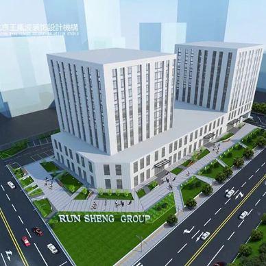 北京润生集团办公楼室外景观设计_3492554