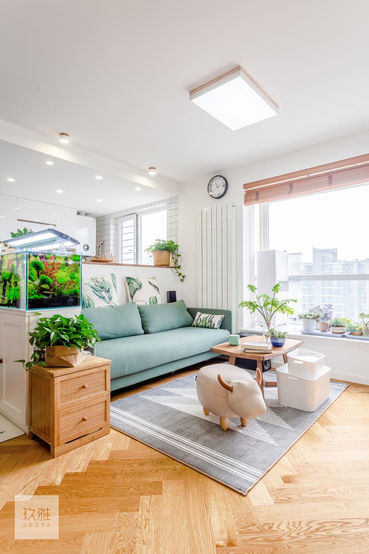 80㎡二层单身公寓客厅设计图片客厅