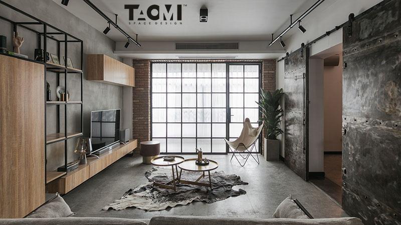 典雅94平混搭三居客厅效果图欣赏客厅
