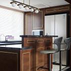 现代 三居吧台设计图