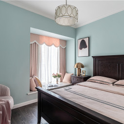 温馨美式次卧设计图