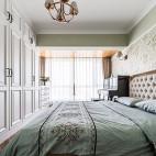 净秋空美式卧室设计实景图
