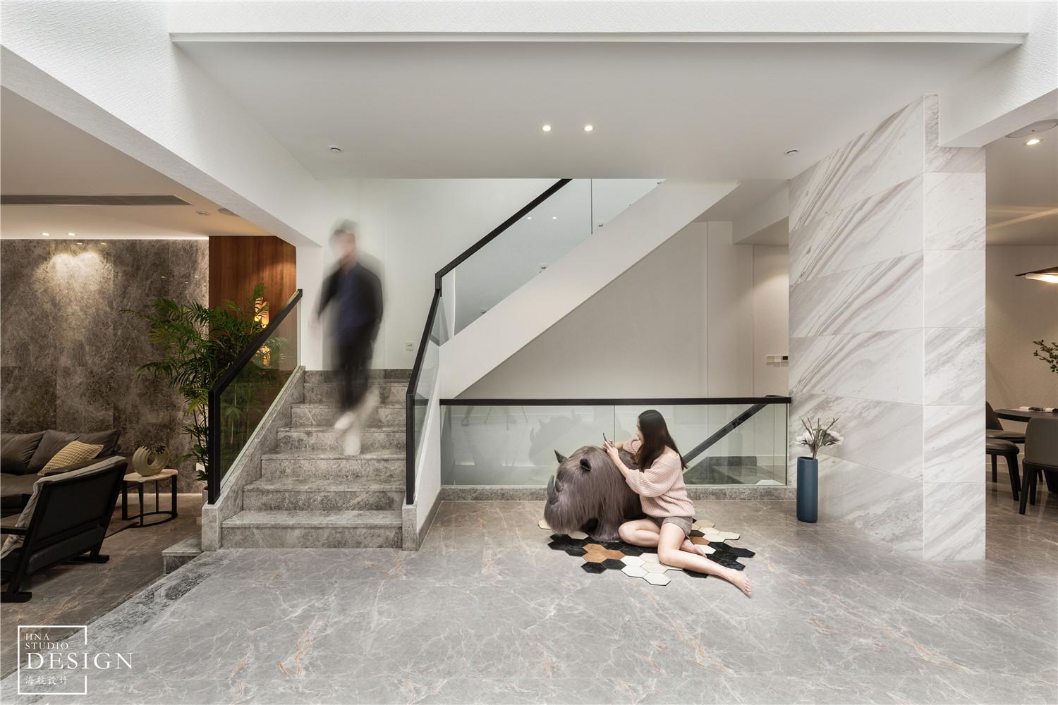 450㎡墅式楼梯设计图片现代简约设计图片赏析