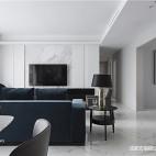 简白现代客厅设计图