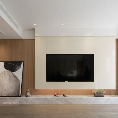 台式风格别墅背景墙设计