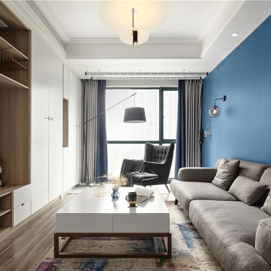 精简北欧三居客厅设计实景