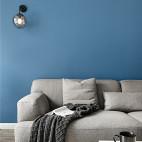精简北欧三居客厅壁灯设计