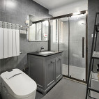 精简北欧三居卫浴设计