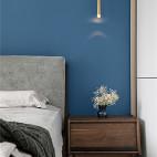 精简北欧三居卧室壁灯设计