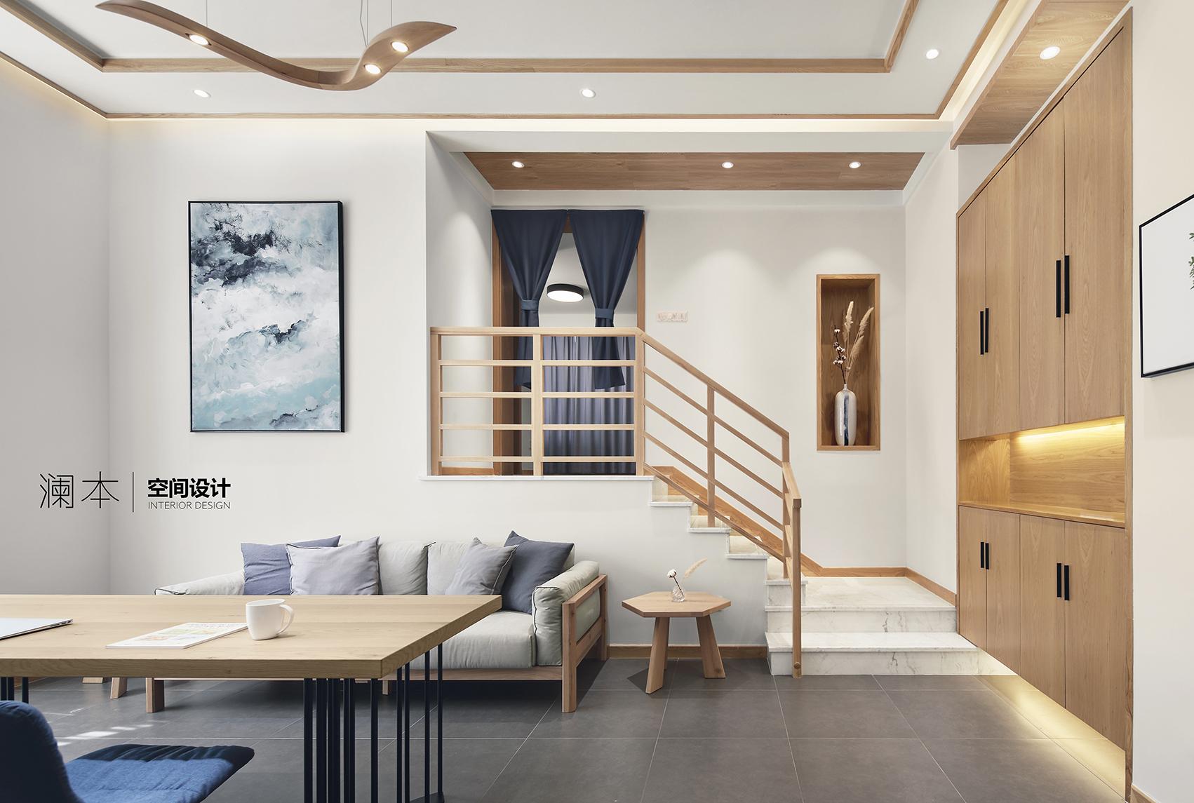 质朴116平日式三居客厅装修图片客厅沙发日式客厅设计图片赏析