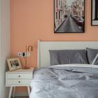 哈勃岛の夏天北欧风卧室设计实景