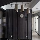 现代灰色系餐厅吊灯设计