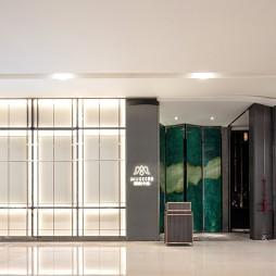 莫舍西餐廳入口設計圖