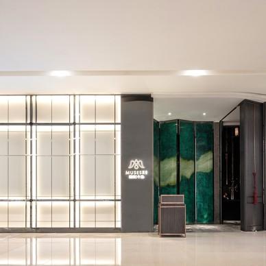 莫舍西餐厅入口设计图